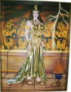 tableau personnages : La Reine d'Egypte