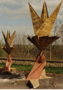 sculpture architecture : La grande flamme