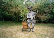 sculpture : Le clown