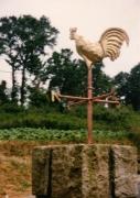 sculpture : Le coq
