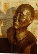 sculpture visage buste dinan rennes : La tête