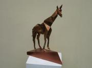 sculpture : La girafe
