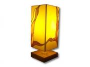 ceramique verre abstrait flamme tiffany chaleur : Flamme