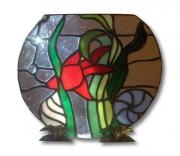 ceramique verre animaux art nouveau : aquarium