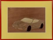 tableau sport ferrari marqueterie chene f430 : Ferrari F430 Scuderia
