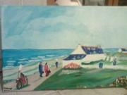 tableau bigoudene bretagne paysage mer : paysage breton