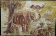 tableau animaux : elephant