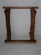deco design autres miroir tendance bois design : miroir en rondin