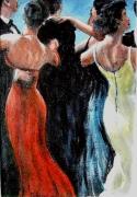 tableau scene de genre danseurs soiree slow belles fesses : soirée danse