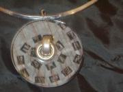 bijoux autres sautoir resine design : Sautoir design