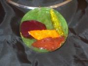 bijoux autres sautoir resine automne : Sautoir automne