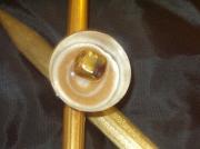 bijoux autres bague resine nacre : Bague nacrée- Vendu