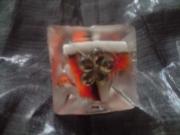 bijoux autres bague resine fleur : bague sucrée