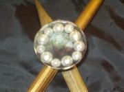 bijoux autres bague resine nacre : Bague aux perles