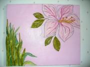tableau fleurs fleur chimere reve rosefeuilles : rose chimère