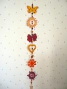bois marqueterie autres noeud soleil fleur etoile : liane ensoleillée
