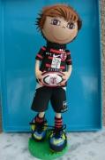 autres personnages poupeefofuchos rugbyman toulouse ballonsport stade toulousain : poupée fofuchos rugbyman stade toulousain