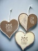 bois marqueterie autres coeurmarron pochoirbiege sciechantournage amouraimer : coeurs à croquer