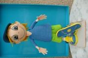 autres personnages poupeefofuchos garcon skate skateur : poupée fofuchos garçon skateur