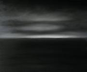 tableau paysages abstrait paysage nuit polaire crepuscule : Nuit polaire