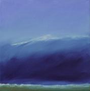 tableau paysages mer marine cote vague : La vague
