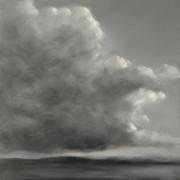 tableau paysages paysage nuage ciel cieux : Orage d'été