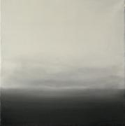 tableau abstrait abstrait paysage brume ciel : Brumes