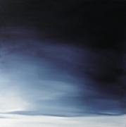 tableau paysages paysage landscape huile toile : Horizon arctique