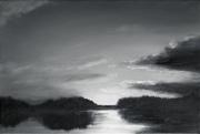 tableau paysages loire paysage landscape fleuve : Paysage de Loire