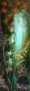 tableau paysages fees mystere paysage melancolie : Le tombeau des Naïades