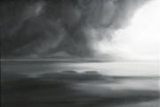 tableau marine paysage nuage mer cieux : L'orage