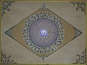 tableau autres oeil cristal om meditaion : 3° Oeil