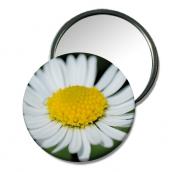 """autres fleurs miroir fleur miroir petit cadeau miroir de poche zen cadeau : Miroir de poche """"Paquerette"""""""