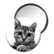"""autres animaux miroir petit chat cadeau petit chat miroir de sac miroir de poche : Miroir de poche """"petit chat"""""""