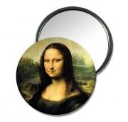 bijoux personnages miroir de poche idee cadeau miroir cadeau miroir de sac : miroir de poche Mona Lisa
