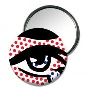 """bijoux abstrait miroir de sac design miroir cadeau petit cadeau origina miroir unique : miroir """"Eye"""""""