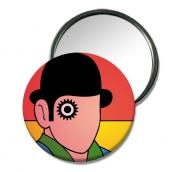 """autres personnages miroir design miroir ludique petit cadeau origina miroir de poche symp : Miroir de poche""""L' Homme"""""""