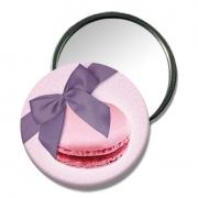 bijoux autres miroir de sac miroir de poche petit cadeau miroir design : miroir de poche Macaron rose