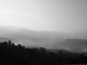 photo : Paysage fumant