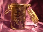 ceramique verre animaux lezard pot animaux recipient : Pot hermétique lézard