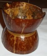 deco design autres cendrier noix de coco : Coconut cendrier