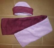 art textile mode autres echarpe bonnet polaire : Bonnet + echarpe polaire