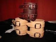 artisanat dart bracelet de force cuir tannage vegetal artisanal : bracelet de force
