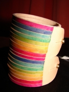 artisanat dart bracelet cuir lanieres artisanal : bracelet lanières