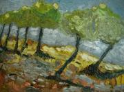 tableau : paysage d'automne