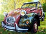 painting autres voiture 2cv : 2cv charleston