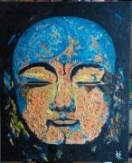 tableau personnages bouddha zen personnages bouddha zen grande s : N° 121- Bouddha Zen Grande Sérénité
