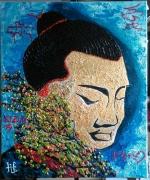 tableau personnages personnages portrait zen fea foiespoiramo : N° 125-F-E-A Foi-ESPOIR-AMOUR