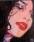 autres personnages portrait personnage femme sous la douche : N° 129-Sous la Douche