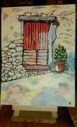 tableau architecture porte architecture maison la vielle porte cham : N° 104 La Vielle Porte champêtre H41 x L33